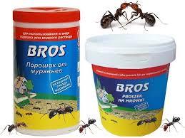 Порошок  Bros (Брос) от муравьев (Польша)