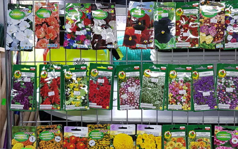 Семена цветов, томатов, огурцов, моркови, свеклы и многого другого производство Республика Польша
