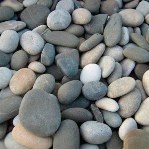 Камень галька речная крупная.